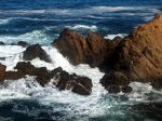 fort bragg, waves, nature picture.