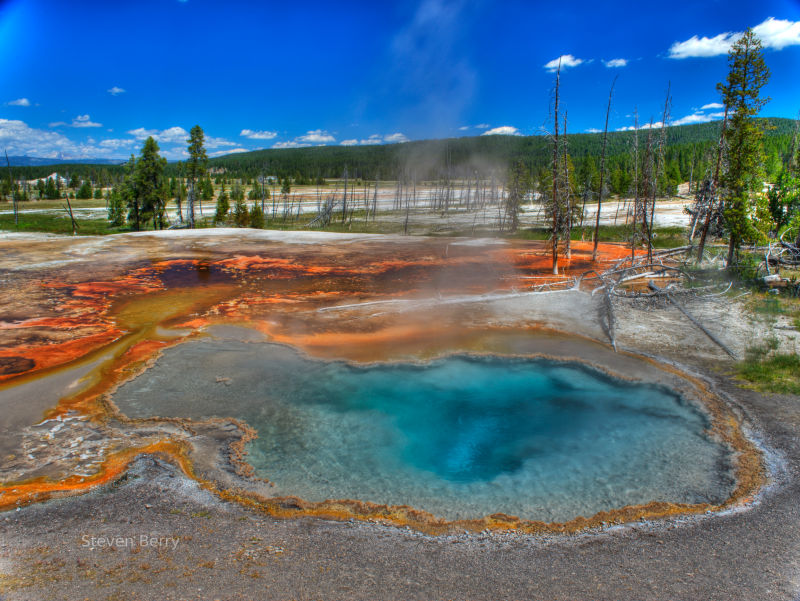 Hot springs, natural hot springs, healing mineral springs.