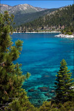 Lake Tahoe, tour Tahoe, ski packages.  Picture of nature.