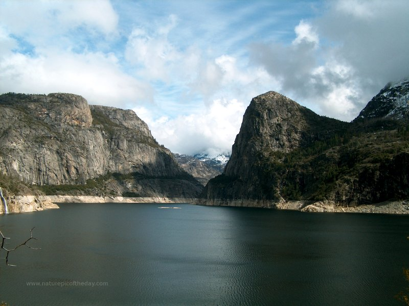 Hetch Hetchy Reservoir, Yosemite National Park.  National Park Nature picture.