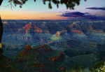 Grand Canyon Sunset.  Tour the Grand Canyon.  Grand Canyon Vacation.