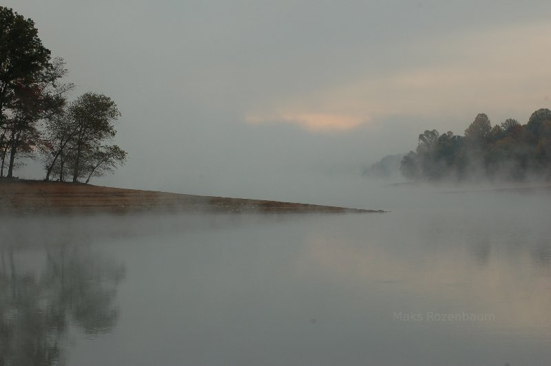 Mist in Maryland.