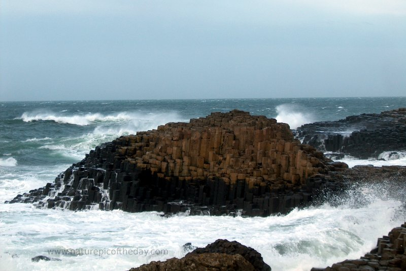 Giants Causeway, Northern Ireland.  Basalt columns.