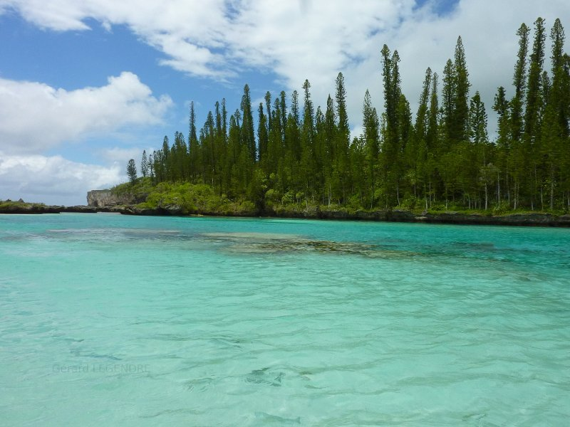 Isle of Pines in New-Caledonia