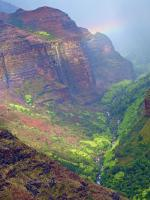 Helicopter Tour, Waimea Canyon, Kauai, Hawaiian Islands