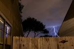 Lightning in San Antonio, Texas