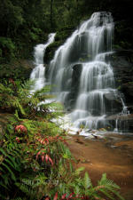 Sylvia Falls, Blue Mountains, Australia.
