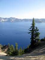 Crater Lake in Oregon