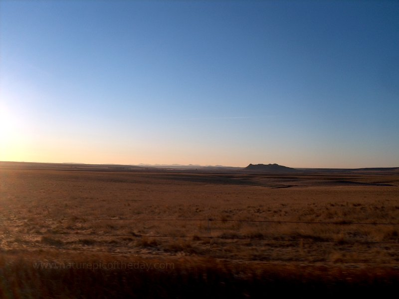 Sunrise in Choteau, MT.