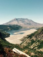 Spirit Lake and Mount St. Helens