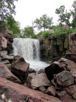 waterfall in Minnesota