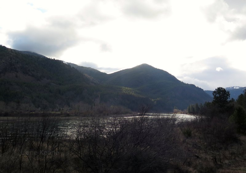 The Flathead river.