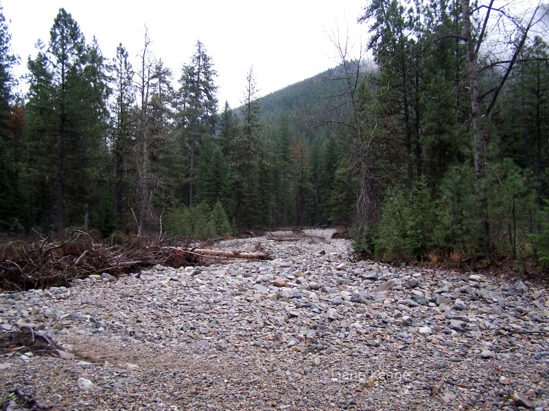 Dry Creek bed in Montana