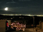 Full Moon over Albuquerque New Mexico