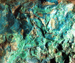 Malachite, green, rock