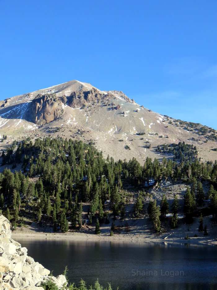 Mount Lassen in Northern California