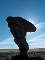 Balanced Rock in Idaho