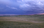 Clouds on the Prairie in Montana