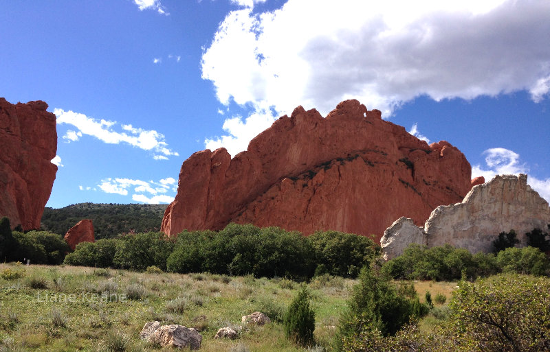 Garden of the Gods in Colorado