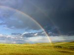 Double Rainbow in Montana