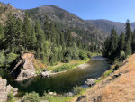 Thompson River in Montana