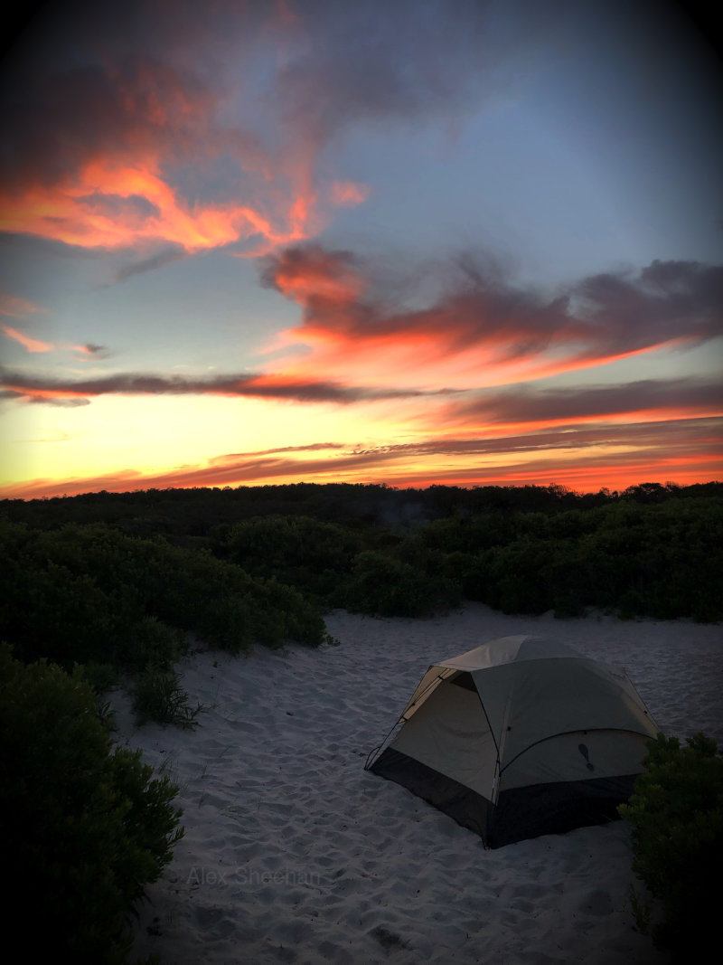 Sunset On Assateague Island