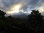 Sunrise in La Fortuna, Costa Rica