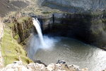 Waterfall on the Palouse River in Washington State