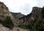 Crags, wilderness, in Idaho